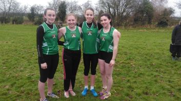 U14 Team Amy Abi Niamh Mollie