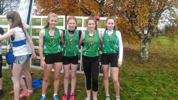 U14 Team Roisin Amy Ciara Ava