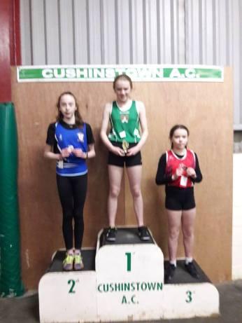 Isabella 1st 60m Sprint