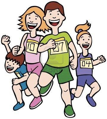 5163255-family-run-art-cartoon-of-a-family-running-together-in-a-racing-event